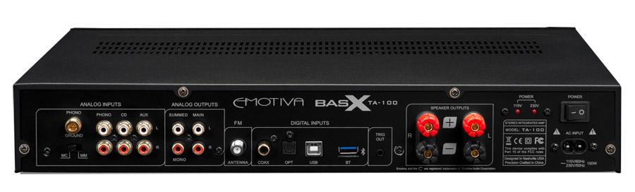 Emotiva BasX TA-100 back
